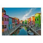 Veneza, Italia Cartão Comemorativo