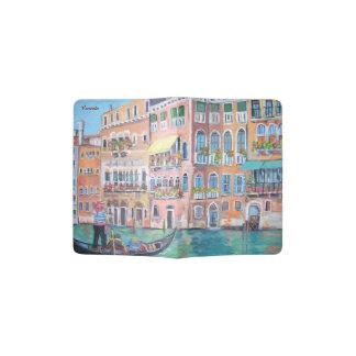 Venezia, suporte do passaporte capa para passaporte