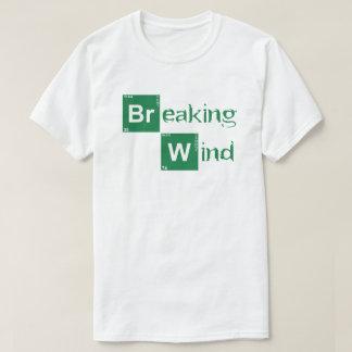 Vento de quebra - quebrando o estilo mau camiseta