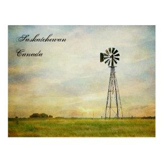 """""""Ventos cartão de Saskatchewan Canadá da mudança"""""""