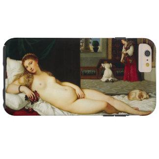 Venus de Urbino por Titian Capas iPhone 6 Plus Tough