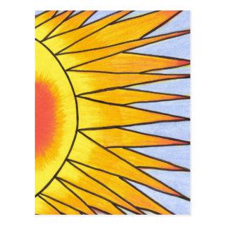 Verão - cartão de Pichilemu, o Chile