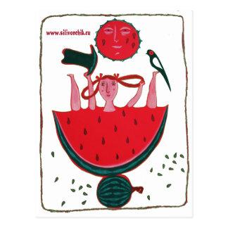 verão cartão postal
