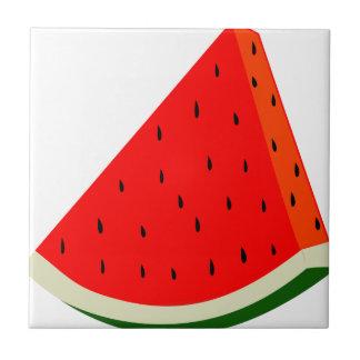 Verão da fatia da colheita da fruta da melancia