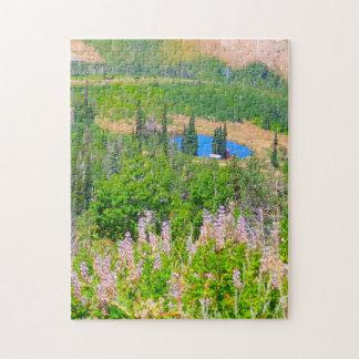Verão da montanha do pó: Lago escondido Quebra-cabeças