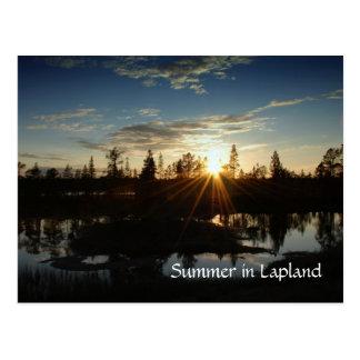 Verão em Lapland - cartão
