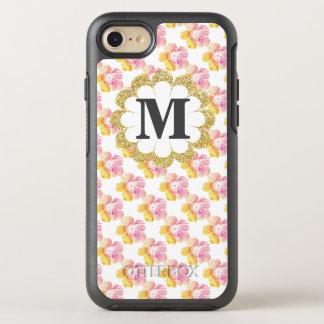 Verão floral capa para iPhone 7 OtterBox symmetry