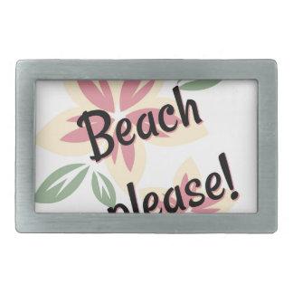 Verão floral - praia por favor