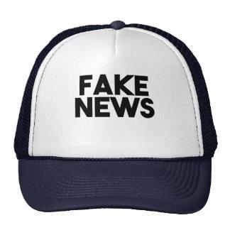 Verdade elegante do cargo da notícia falsificada boné