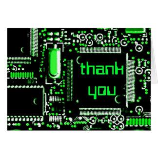 """Verde 2"""" do circuito obrigado você"""" cartão de"""