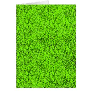 verde abstrato cartão comemorativo