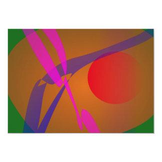 Verde abstrato simples da composição convite