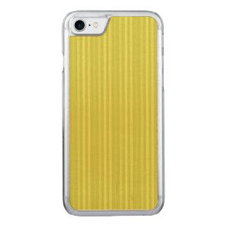 Verde amarelo Chartreuse de listras verticais Capa iPhone 7 Carved
