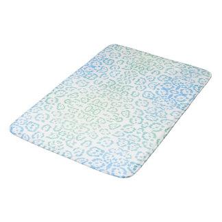 Verde animal Pastel do impressão de Kawaii do Tapete De Banheiro