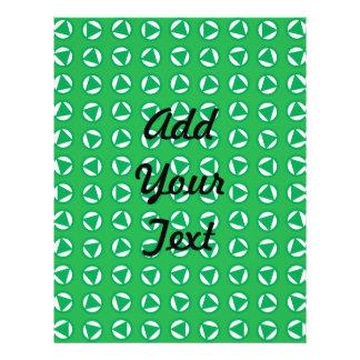 Verde azul de giro das setas
