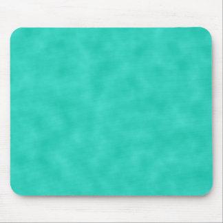 Verde-Azul de turquesa Marbleized Mouse Pad