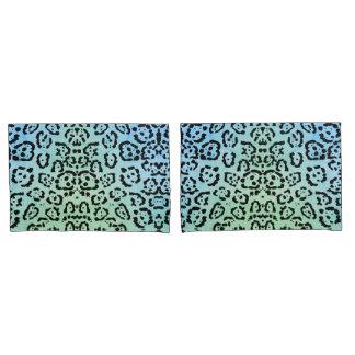 Verde azul do efeito da pintura de óleo do animal