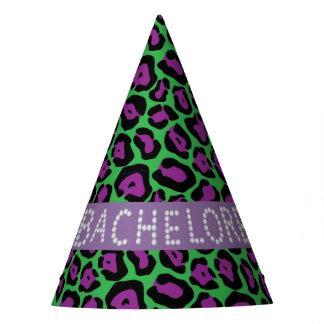 Verde/chapéus de Bachelorette do diamante do falso Chapéu De Festa