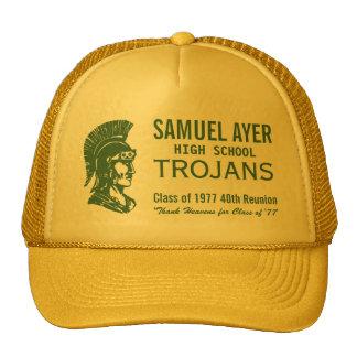 Verde & classe do ouro 'de 77 40th Trojan da Boné