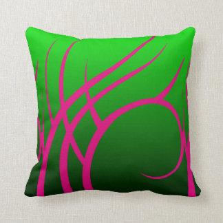 Verde com o travesseiro decorativo tribal almofada