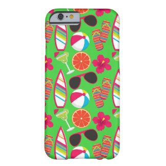 Verde da bola de praia dos óculos de sol dos capa barely there para iPhone 6