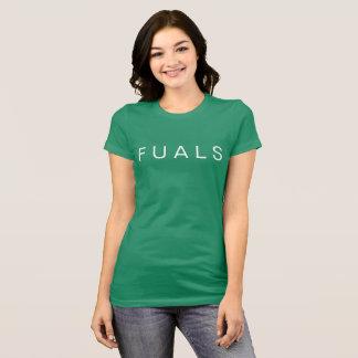 VERDE da camisa do ALS do ALS F U de FU