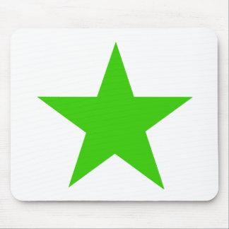 Verde da estrela os presentes de Zazzle do MUSEU Mouse Pad