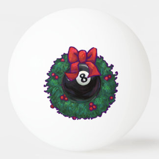Verde da grinalda do Natal de 8 bolas
