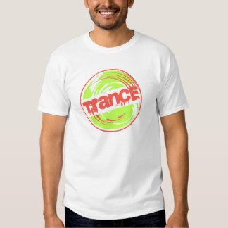 Verde da parada do Trance Tshirt