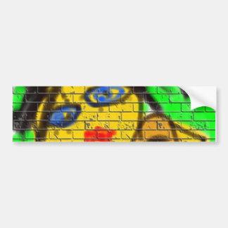 Verde da parede dos grafites da mulher da abelha adesivo para carro