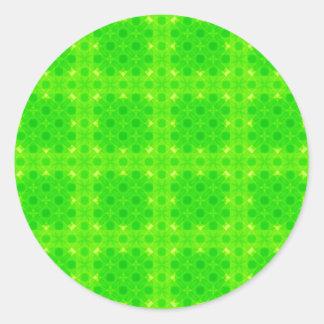 Verde da selva adesivo