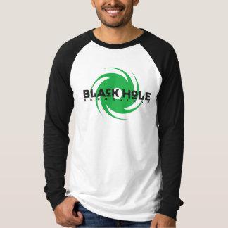 Verde das gravações do buraco negro camiseta