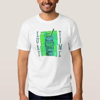 Verde de mar & azul Luau T-shirt