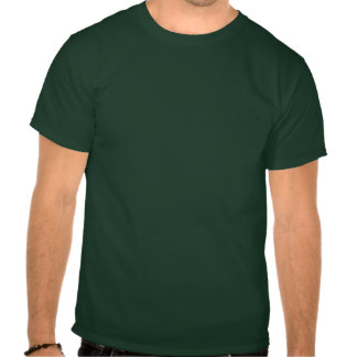 Verde de mar & azul Luau Camiseta
