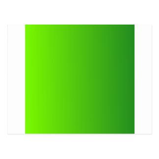 Verde do gramado ao inclinação do vertical de cartoes postais
