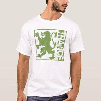 Verde do leão do Trance Camiseta
