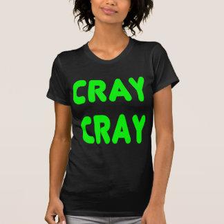 Verde do néon de Memes do Internet de Cray Cray T-shirts
