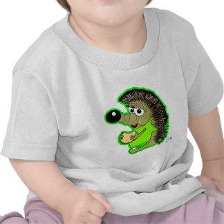 verde do ouriço t-shirt