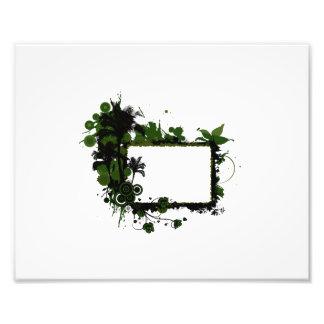 Verde do quadro da palmeira e black png fotografias