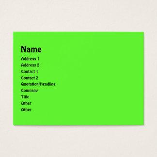 Verde e roxo listra o quadro da foto cartão de visitas