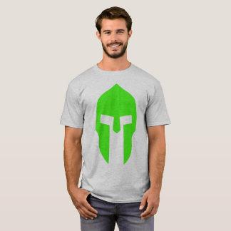 Verde espartano camiseta