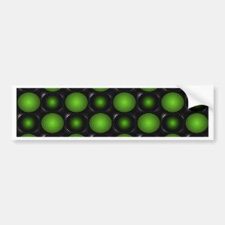 Verde esverdeado do design do tabuleiro de xadrez adesivo para carro