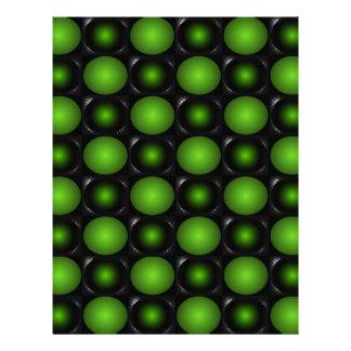 Verde esverdeado do design do tabuleiro de xadrez  papéis de carta personalizados
