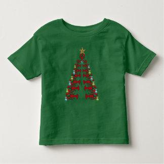 Verde feio da camisa do partido bonito da árvore