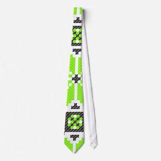 Verde fresco do limão - laço gravata