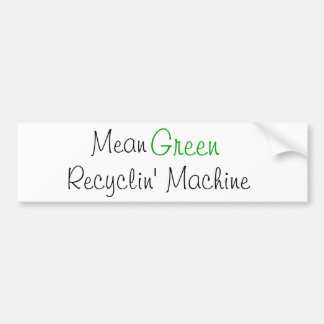 Verde médio, máquina de Recyclin Adesivos