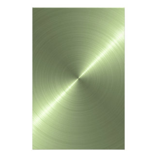 Verde metálico papéis personalizados