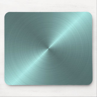 Verde metálico mousepad
