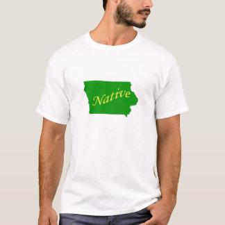 Verde nativo de Iowa Camiseta