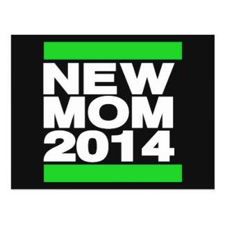 Verde novo da mamã 2014 cartão postal